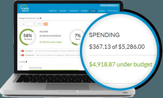 PowerWallet budgeting