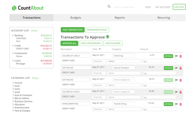 CountAbout Review 2019 | Import Your Data From Mint or Quicken