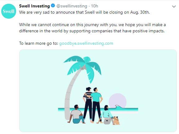 Swell Investing 2019 Review | A Socially Responsible Robo
