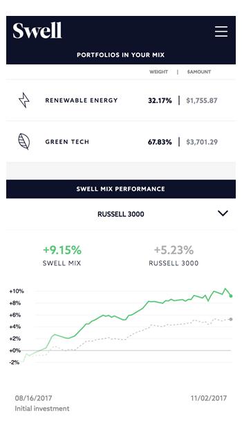 Swell Investing - Portfolio Performance