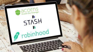 Photo of Acorns vs Robinhood vs Stash Invest