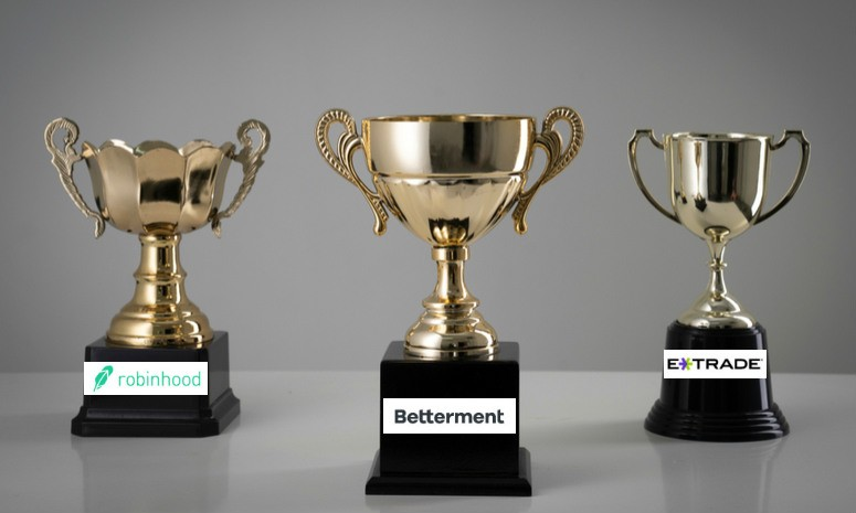 Betterment vs  Robinhood vs  E*TRADE 2019 Comparison