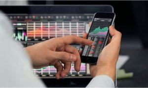 Trading platform fractional shares