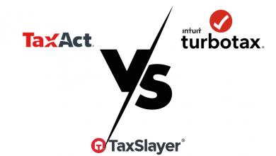 Taxact vs. TurboTax vs. Taxslayer 2021 Comparison