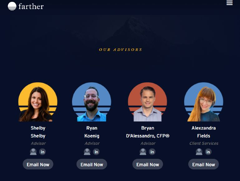 Farther advisors